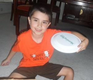 A frisbee