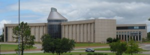 View of the Oklahoma History Center from the Capital