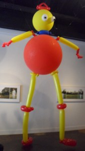 Giant Seymour balloon sculpture