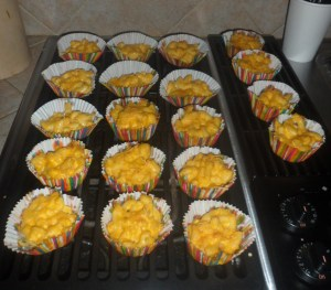 Individual Servings of Mac & Cheese