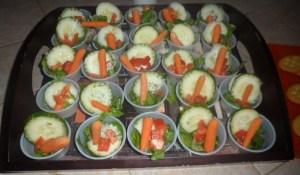 Individual Mini Salads