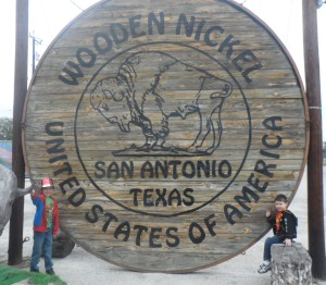 Front of the Wooden Nickel
