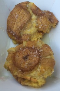 Tostones with Garlic Oil