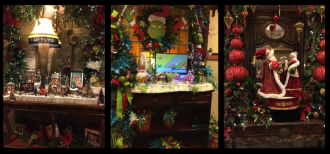 Each of the floors above the lobby are decorated in a different theme.